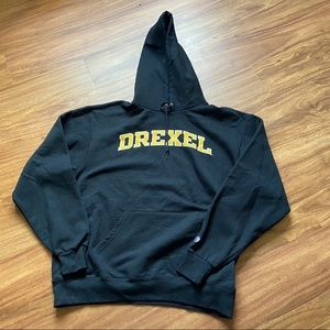 Vintage black Drexel university champion hoodie